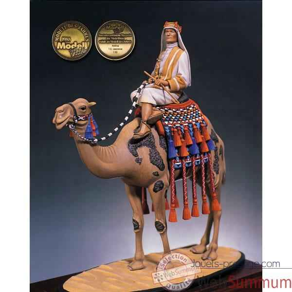 Figurine - Kit a peindre Lawrence d'Arabie en 1917 - S3-F10