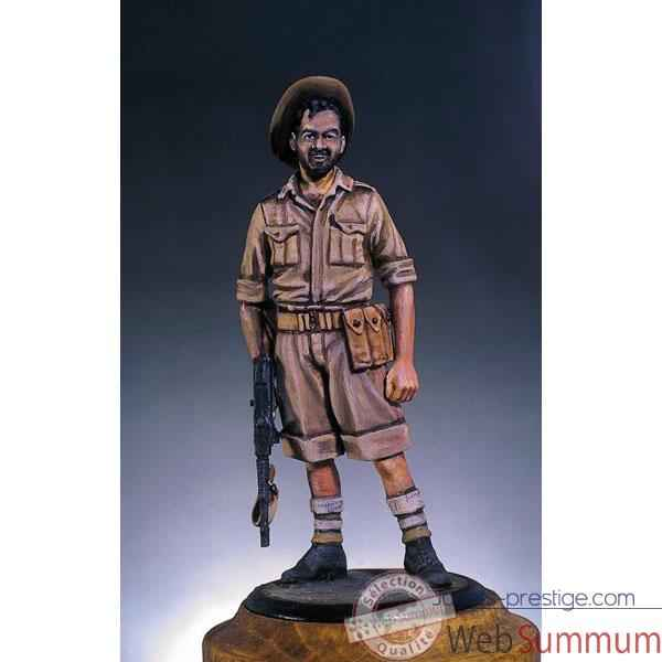 Video Figurine - Kit a peindre Chindit de l'armee britannique en 1943 - S5-F22