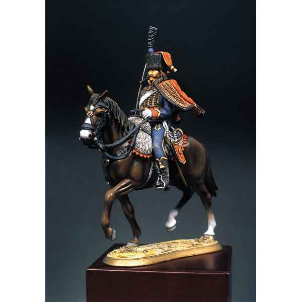 figurine kit peindre hussard du 4e r giment 1813 s7 f2 sur jouets prestige. Black Bedroom Furniture Sets. Home Design Ideas