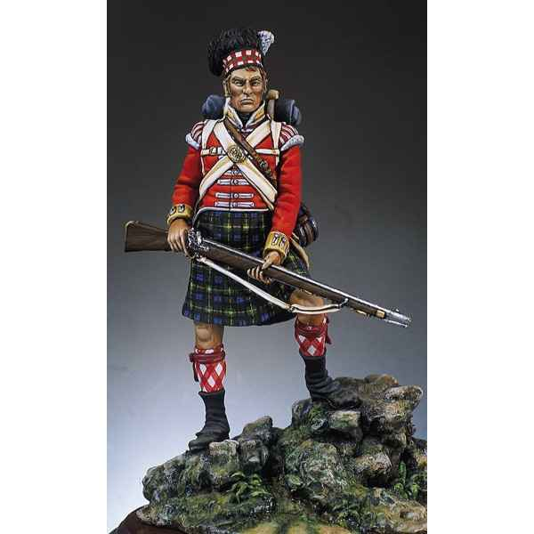 Figurine - Kit a peindre 92e  Gordon  Highlanders en 1815 - S7-F4