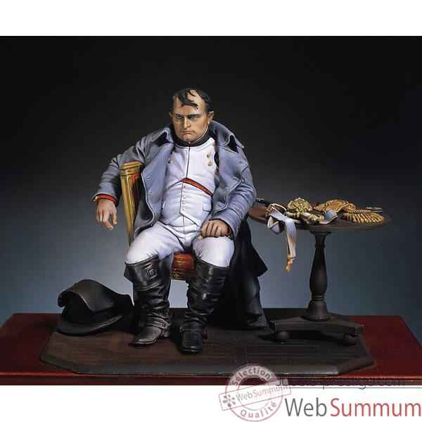 Figurine - Kit a peindre Napoleon a Fontainebleau - S8-F18