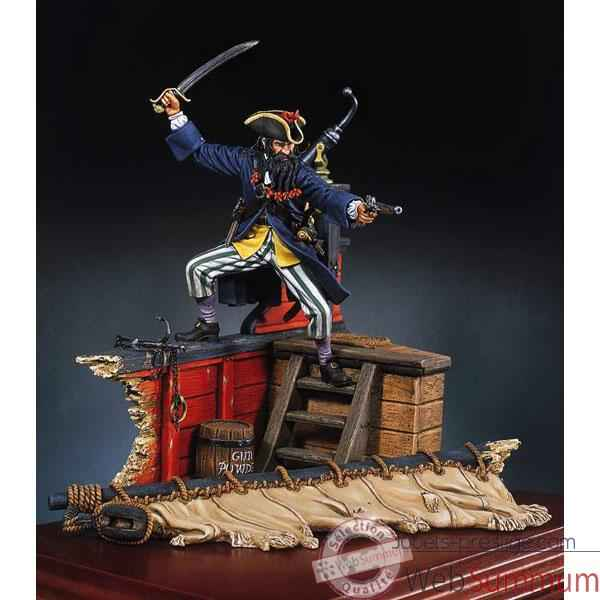 Figurine - Kit a peindre Barbe noire - S8-F19