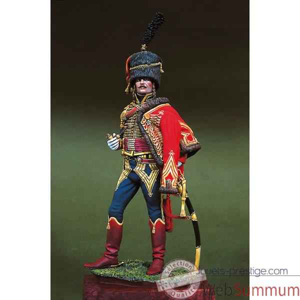 Figurine - Kit a peindre Capitaine en 1805 - S8-F35