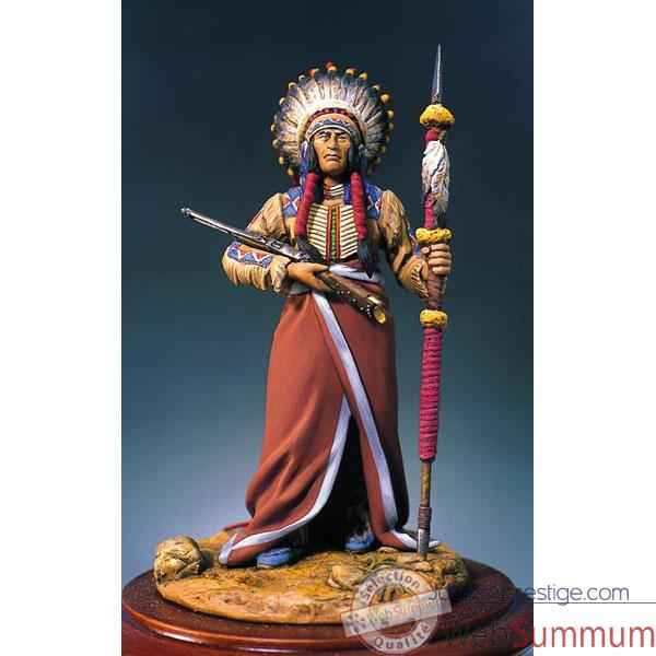 Video Figurine - Kit a peindre Chef sioux - S4-F19