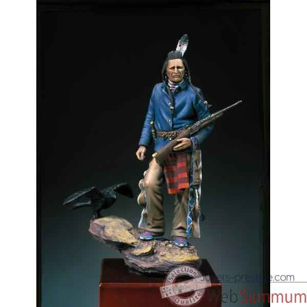 Figurine - Kit a peindre Explorateur Crow  1876 - S4-F24