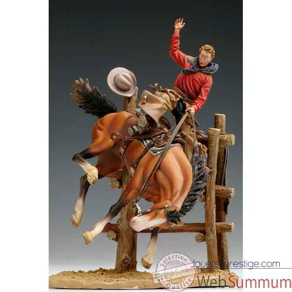 Figurine - Kit a peindre Bronco Billy en 1880 - S4-S12