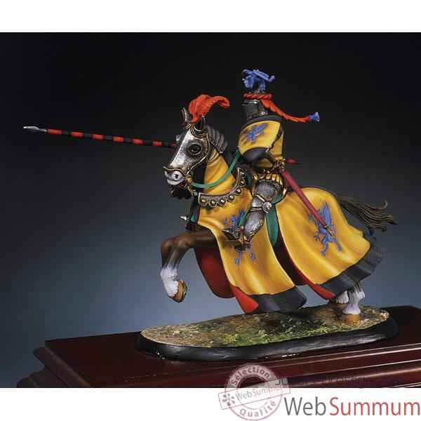 Figurine - Kit a peindre Le chevalier du Dragon en 1350 - SG-F018
