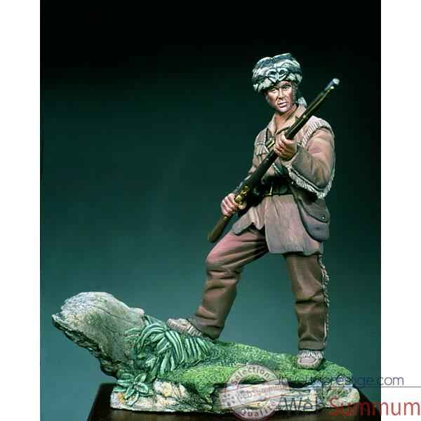 Figurine - Kit a peindre David Crockett en 1834 - SG-F051