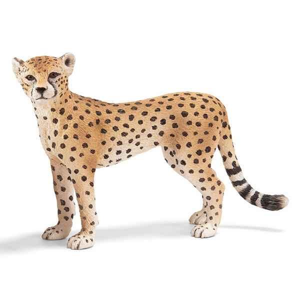 Figurine Schleich Afrique Guepard femelle -14614