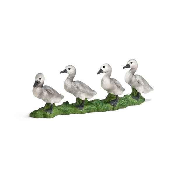 figurine schleich animaux de la ferme cygneau 13657 de jouets figurines. Black Bedroom Furniture Sets. Home Design Ideas