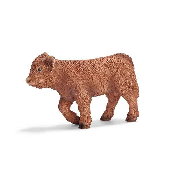 figurine schleich animaux de la ferme veau highland 13660 pictures. Black Bedroom Furniture Sets. Home Design Ideas