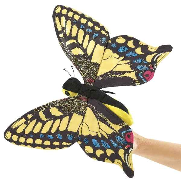 Marionnette papillon machaon Folkmanis -3029