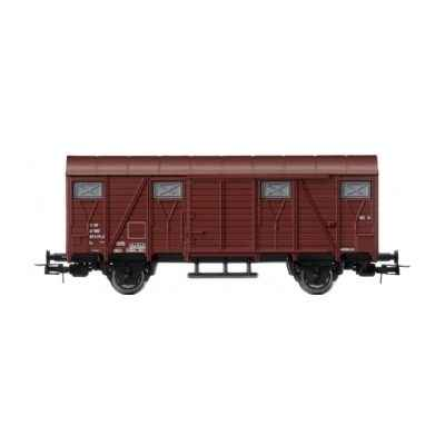 Gamme Junior Jouef Wagon Marchandises Couvert Sncf -hj6035