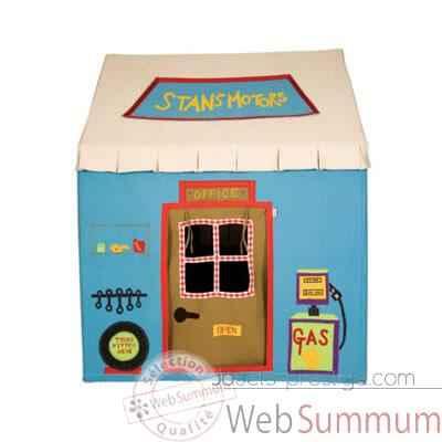 garage en tissu pour enfant grande taille dans maison. Black Bedroom Furniture Sets. Home Design Ideas