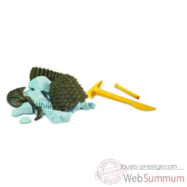 Gw ice age excav kit - glyptodon - 21cm Geoworld -CL177K