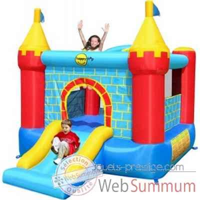Jeu ch teau gonflable avec toboggan happy hop de jouet plein air sur jouets p - Chateau gonflable happy hop ...