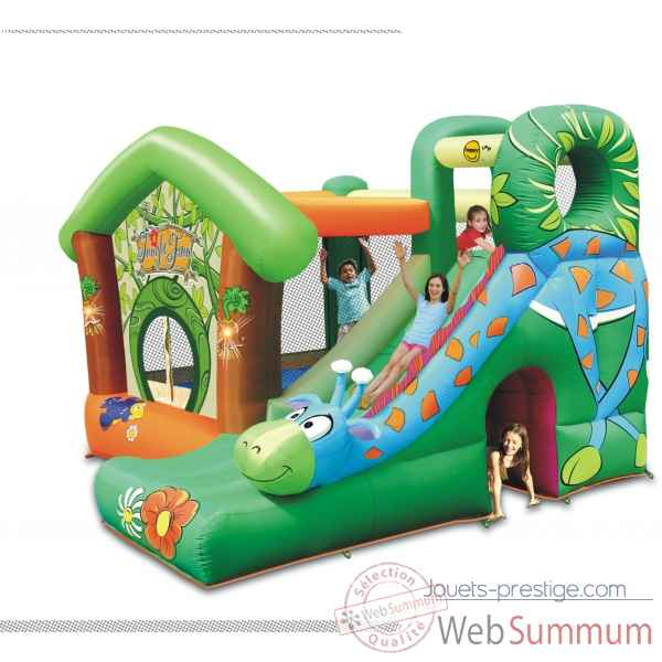 Jeu gonflable jungle fun happy hop 9139 dans structure gonflable sur jouets - Structure gonflable happy hop ...