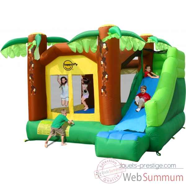 jeu gonflable jungle fun happy hop 9139 dans structure gonflable sur jouets prestige. Black Bedroom Furniture Sets. Home Design Ideas