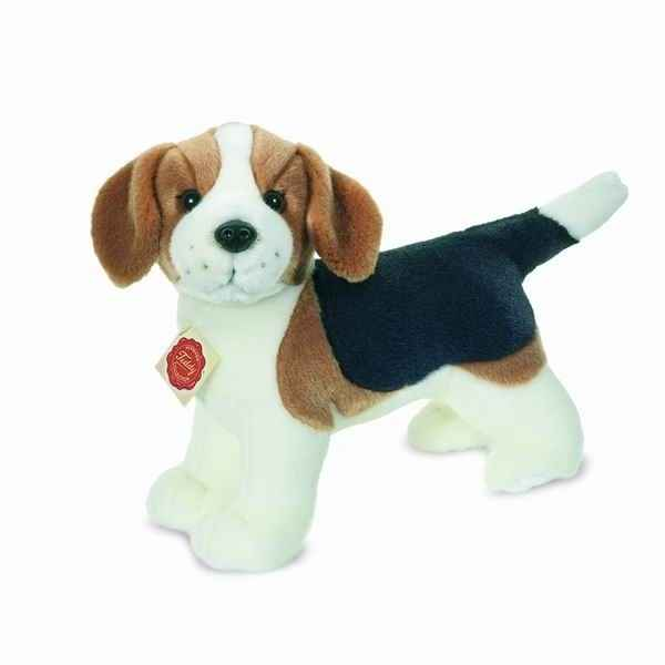 Peluche Chien Beagle debout Hermann Teddy collection 25cm 92758 7