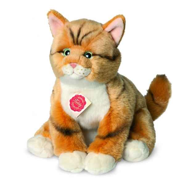 Chat roux tigre 30 cm Hermann -90699 5