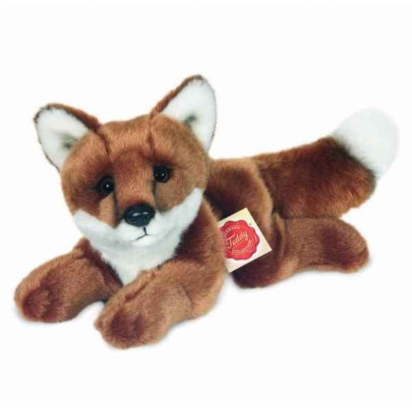 Peluche Renard couche Hermann Teddy collection 25cm 90324 6