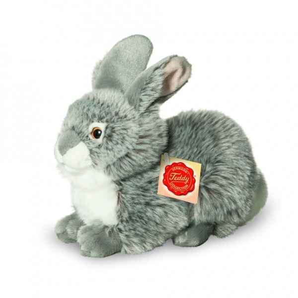 Lapin assis gris Hermann -93774 6