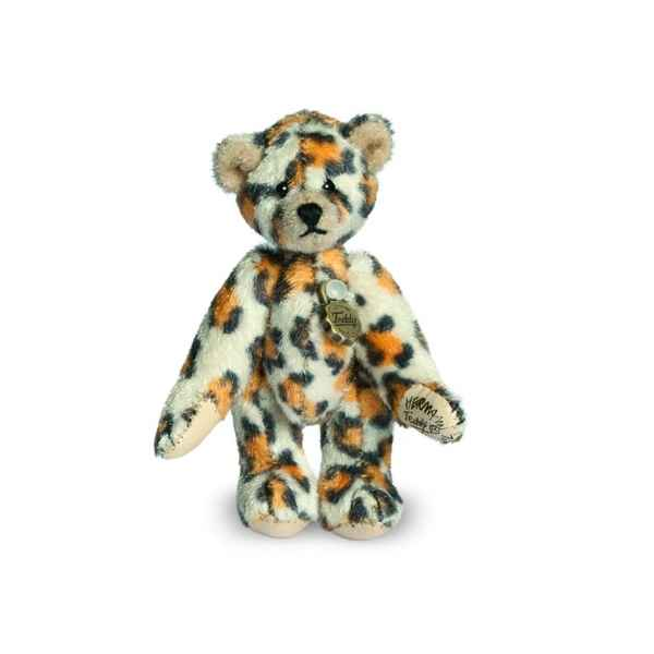 Mini ours teddy bear leopard 6 cm Hermann -15411 2