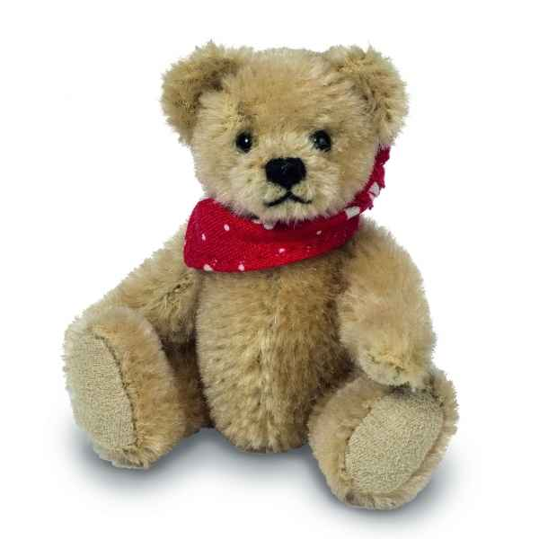Mini ours peluche de collection lenni 10 cm ed. limitee Hermann -15484 6