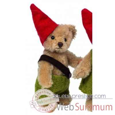 Mini peluche de collection ours lutin 10 cm  ed. limitee Hermann -15481 5