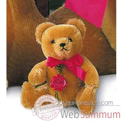 Nostalgic teddy old-gold 14 cm peluche hermann teddy original edition limitee -16314 5