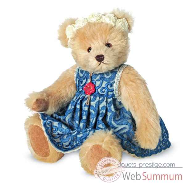 Ours en peluche de collection abigail 30 cm hermann -12146 6