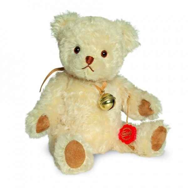 Ours en peluche de collection elli 28 cm hermann -15430 3