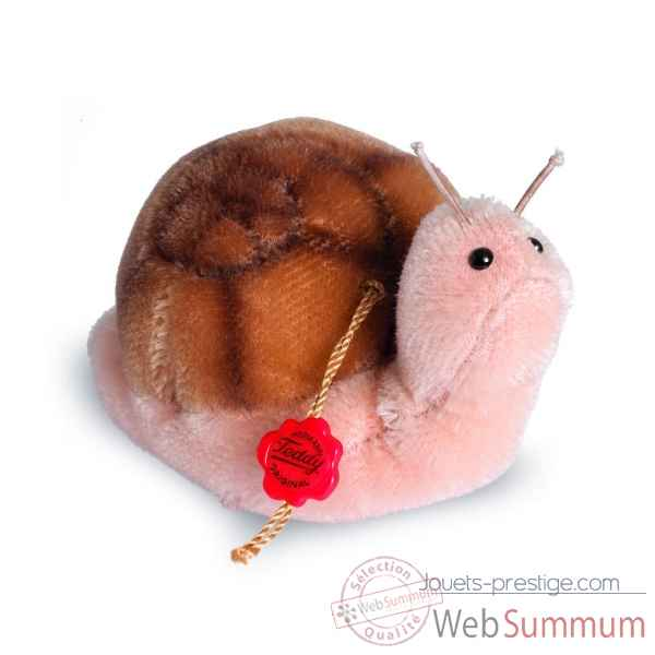Ours en peluche de collection escargot flotti 8 cm hermann -17052 5