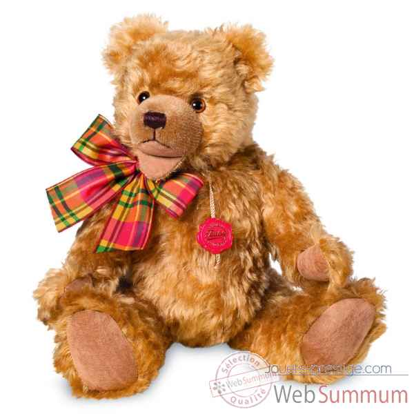 Ours en peluche de collection gold 36 cm hermann -16446 3