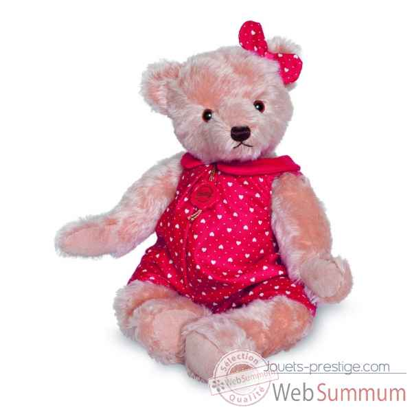 Ours en peluche de collection hanni 40 cm hermann -17141 6