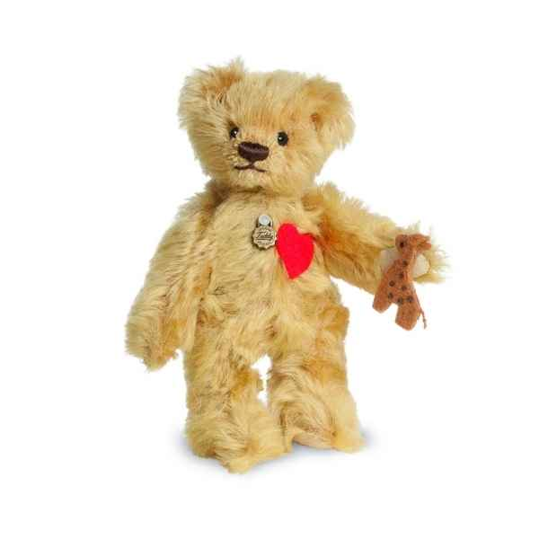 Ours en peluche de collection jacob 11 cm hermann -15487 7