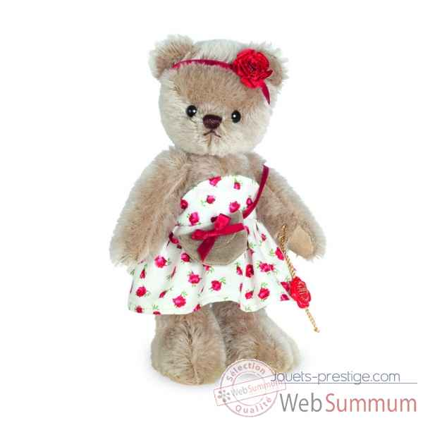 Ours en peluche de collection katarina 20 cm hermann -11732 2