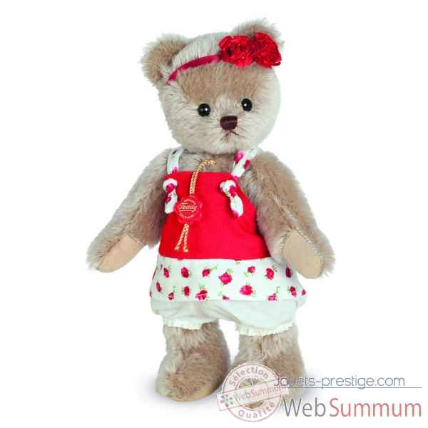 Ours en peluche de collection katinka 23 cm hermann -11733 9