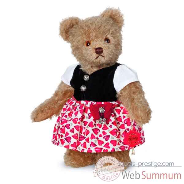 Ours en peluche de collection luise 27 cm hermann -17269 7