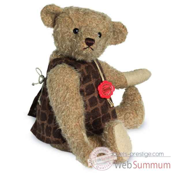 Ours en peluche de collection minna 31 cm hermann -16611 5