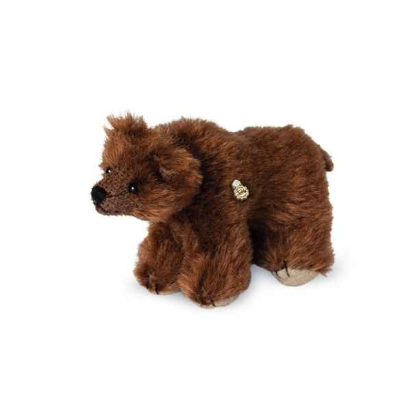 Ours en peluche de collection ours brun 10 cm hermann -15081 7