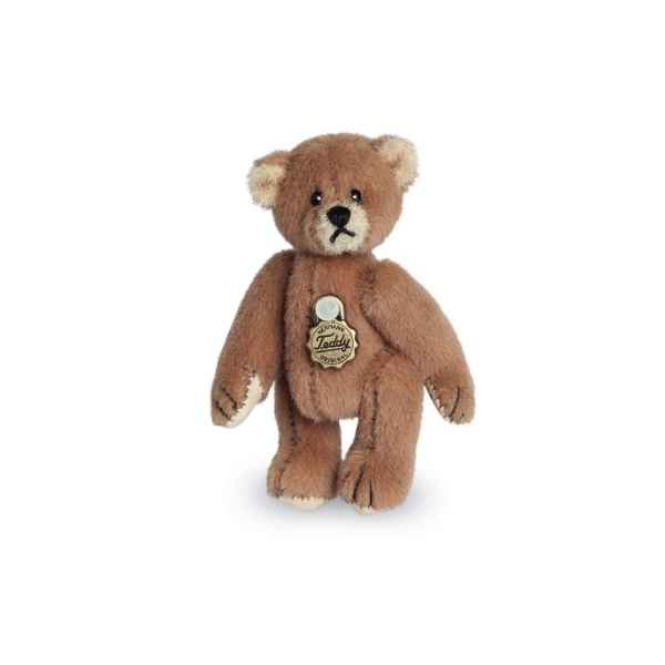 Ours en peluche de collection teddy brun 5 cm hermann -15416 7