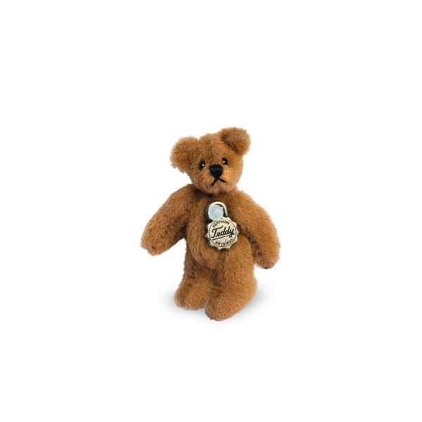 Ours en peluche de collection teddy brun dore 4 cm hermann -15426 6