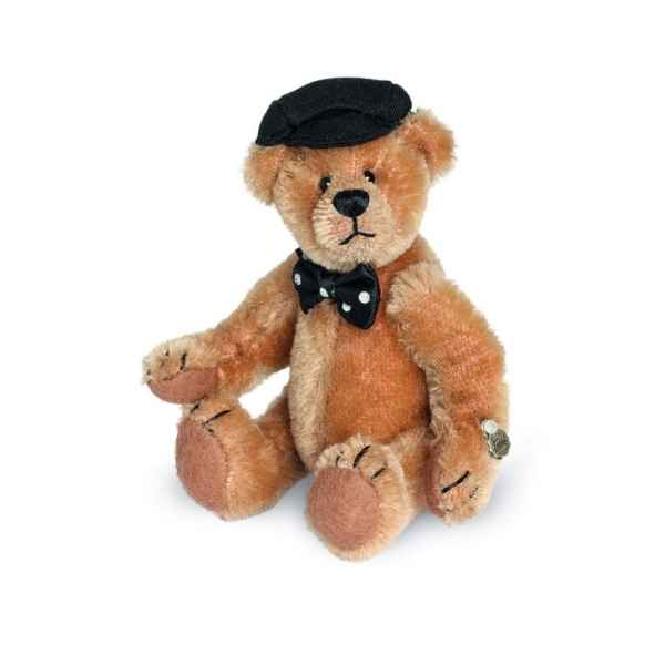 Ours en peluche de collection theo 12 cm hermann -15083 1