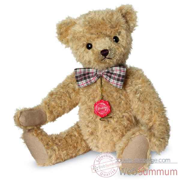Ours en peluche de collection theo 40 cm hermann -16651 1