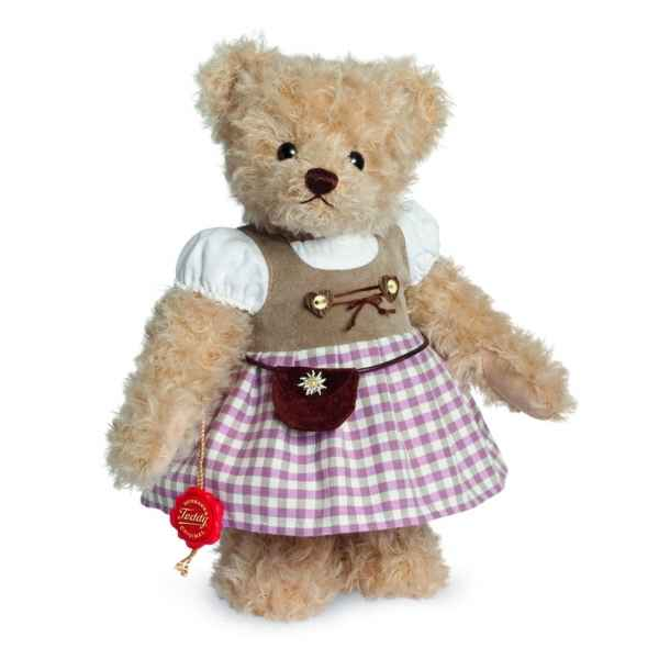 Ours en peluche de collection therese 27 cm hermann -17266 6