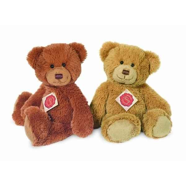 Peluche Ours Teddy or gold Hermann Teddy collection 26cm 91160 9