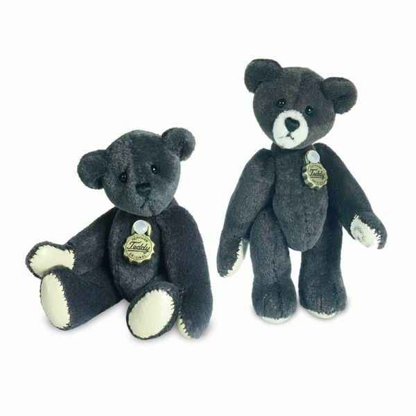 Peluche Ours Teddy mocha Hermann Teddy original miniature 5,5cm 15391 7