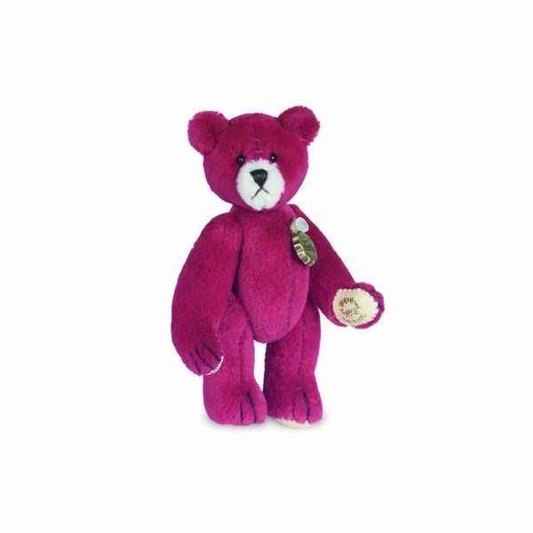 Peluche Ours Teddy rouge Hermann Teddy original miniature 6cm 15394 8