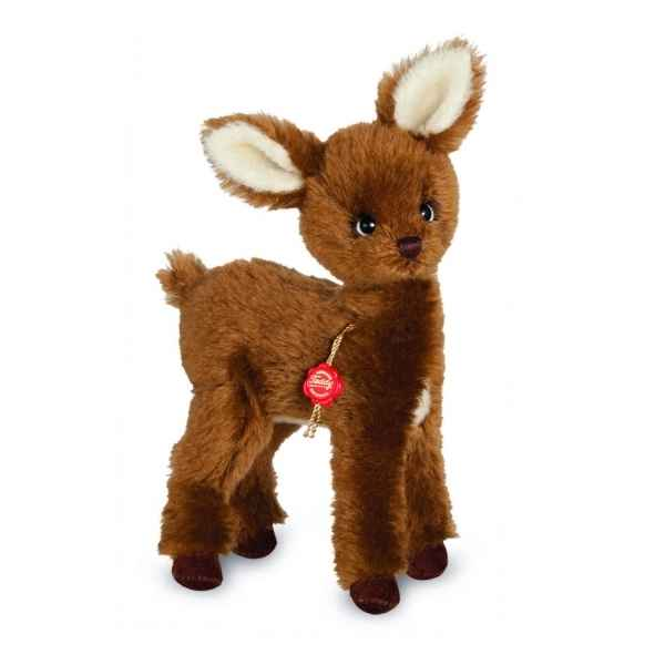 Peluche de collection biche 26 cm hermann -15639 0